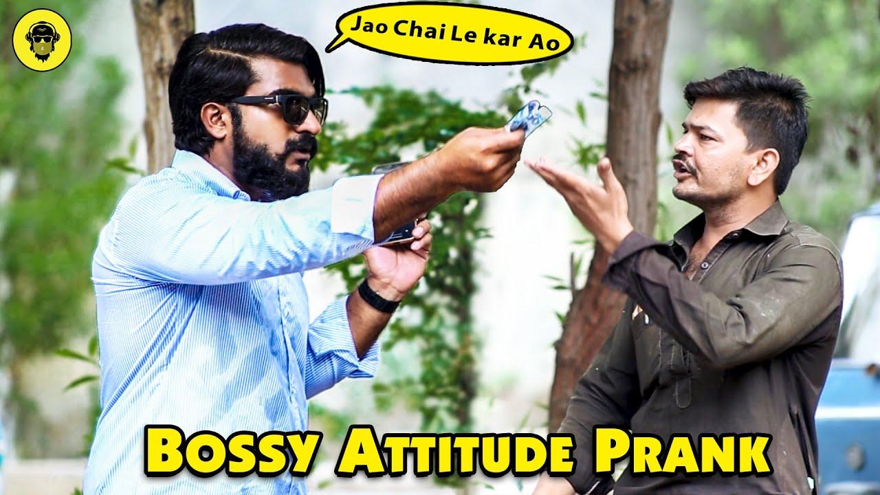 Bossy Attitude Prank   Funny Reactions   Dumb TV