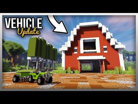 ✔️ FARMING SIMULATOR In Minecraft! (Vehicle Mod Update)