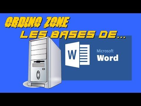 [Tuto] * Les bases du traitement de texte Word. Leçon 1 [HD]