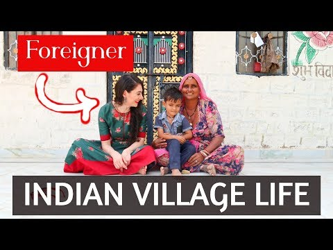 FOREIGNER in INDIAN VILLAGE: RAJASTHAN like you've NEVER SEEN BEFORE | TRAVEL VLOG IV