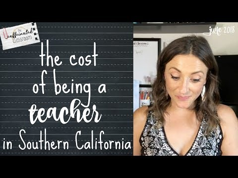 The Cost Of Being A Teacher In SoCal | Coffee Chat