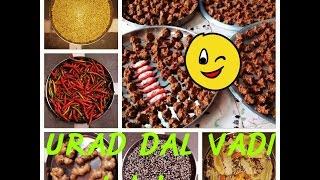 Urad dal vadi recipe in hindi//////Kohdauri///bari/////(UP) SPECIAL