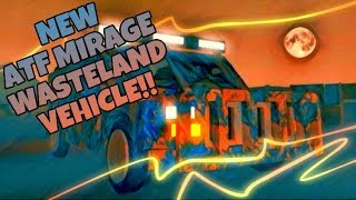 ATF: Mirage - NEW VEHICLE!! (Wasteland Truck) | ROBLOX