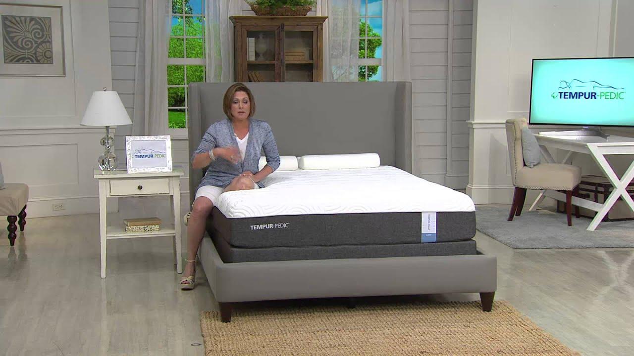 tempurpedic california king cloud loft mattress set with lisa mason - Tempurpedic Cloud