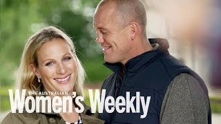 Zara Phillips photo shoot for The Weekly   Behind the scenes