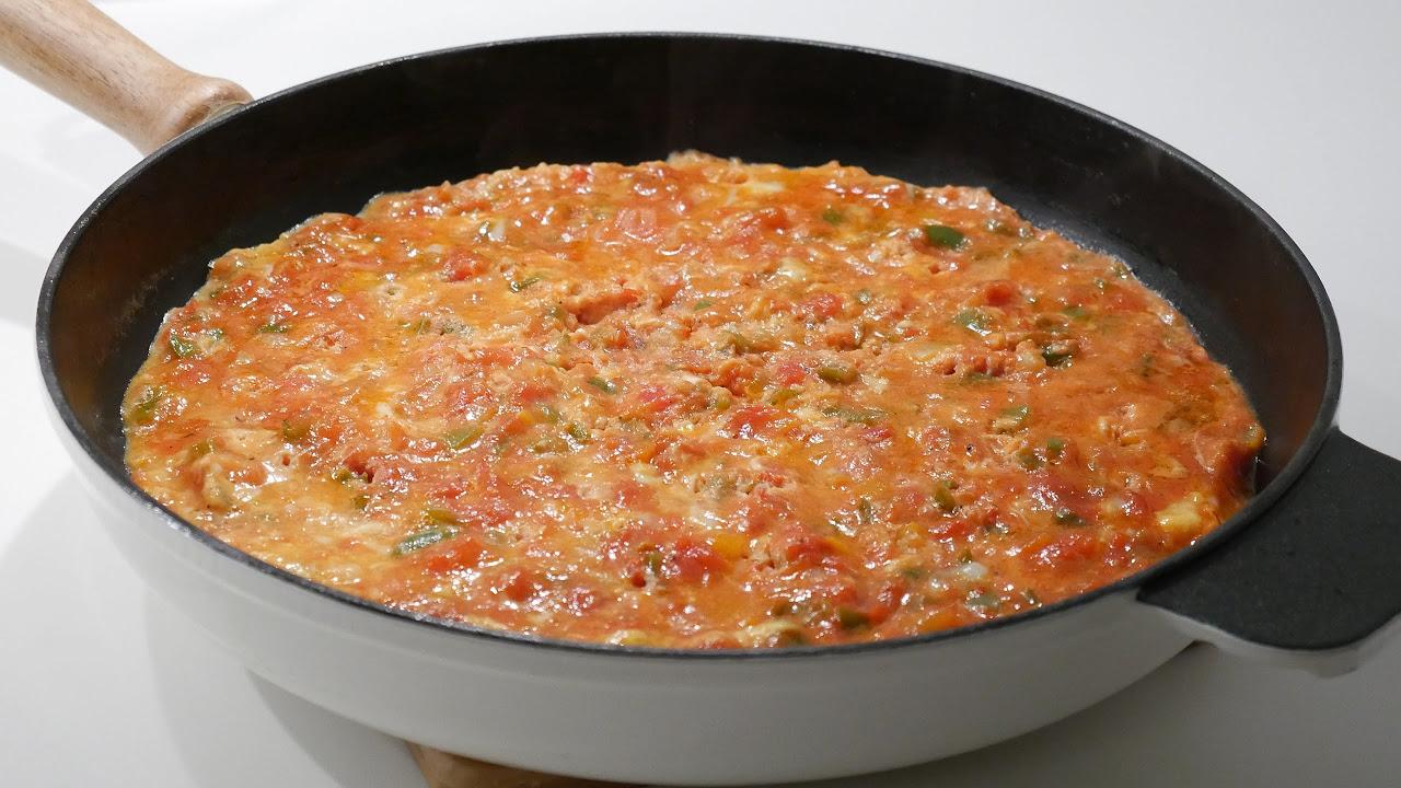 Menemen Yemek Tarifi / Benim Mutfağım'da HOT Menemen Yemek Tarifi/ Yemek Tarifleri