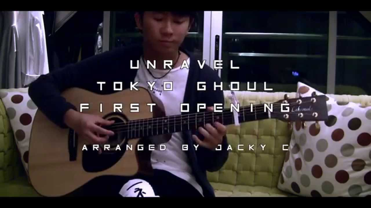 Unravel Tokyo Ghoul First Opening Fingerstyle Guitar Cover by GuitarStrings [TABS] - YouTube