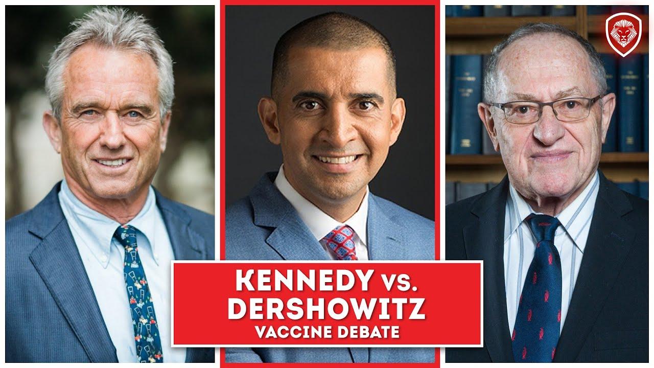 14. Heated Vaccine Debate - Kennedy Jr. vs Dershowitz