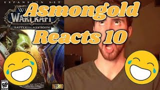 Asmongold reacts to new Armor sets in the patch 8.1 PTR class changes! Also teaches Mcconnell