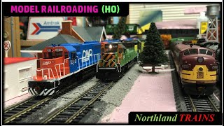 ho scale bn cnw dwp december operations