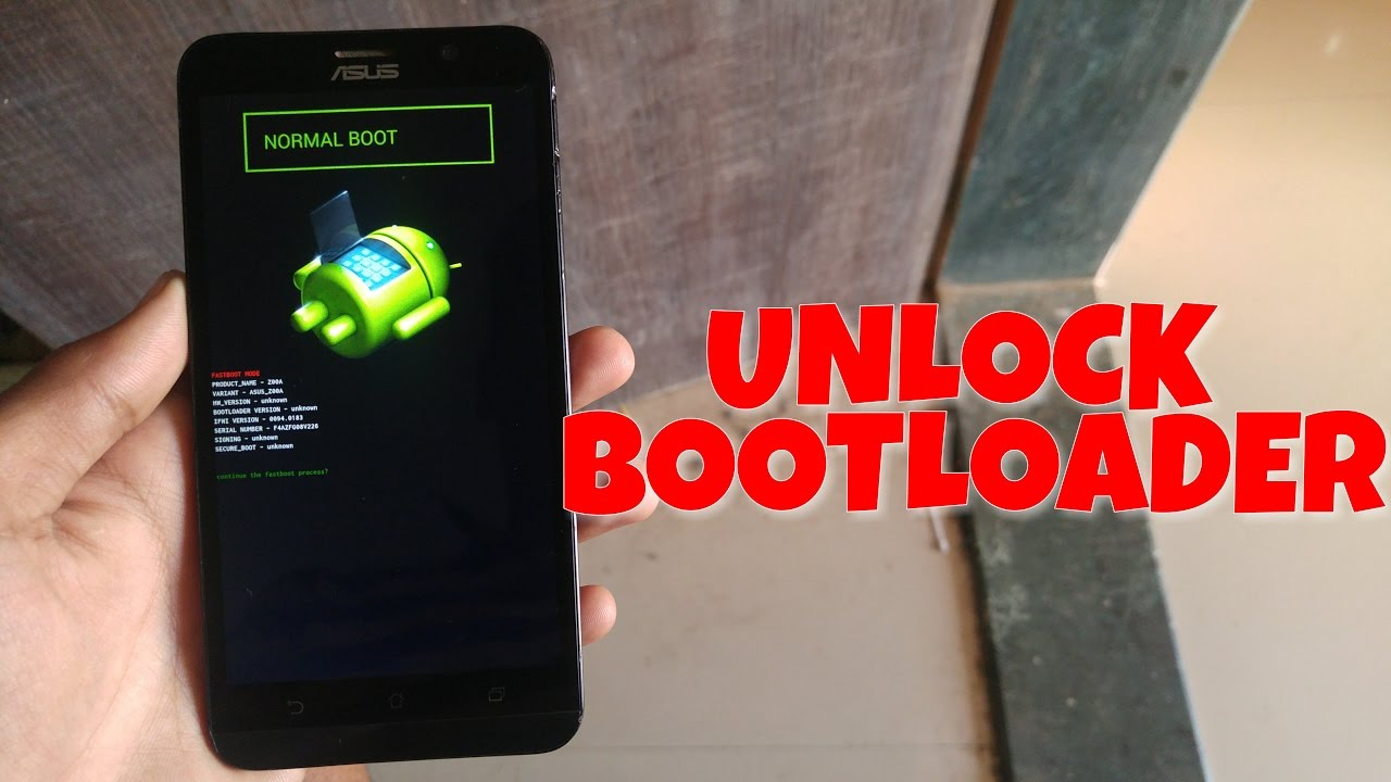 how to UNLOCK Bootloader on ASUS Zenfone 2/3/5/laser