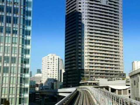 団塊オヤジの通勤 竹芝駅をでて汐留駅に向かいます 2分29秒