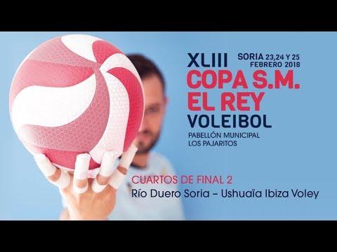 CUARTOS 2 - Copa de S.M. el Rey de voleibol 2018 (Soria)