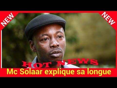 Mc Solaar explique sa longue absence et...