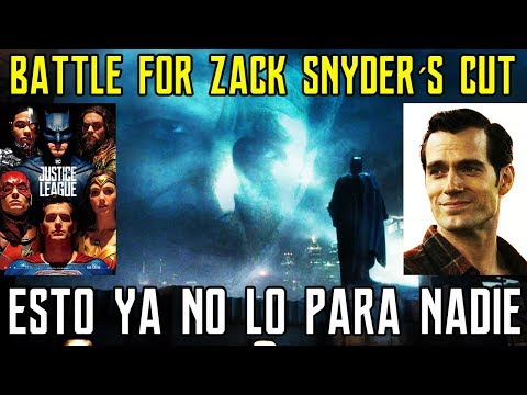 ZACK SNYDER - THE BATTLE CONTINUES - JUSTICE LEAGUE - NOTICI
