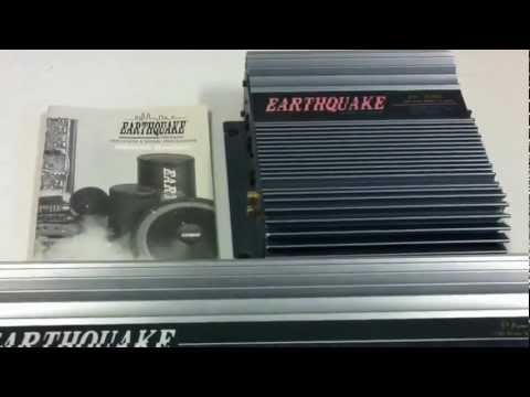 Unboxing Old School Car Audio Gear #9 - Earthquake Amps - PA2040c and PA2300