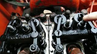 Замена Резинок на трубках толкателей на трактор т 25