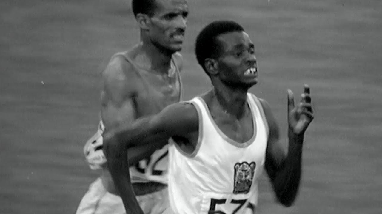 Naftali Temu Wins Kenya's First Olympic Gold - 10,000m | Mexico 1968 Olympics