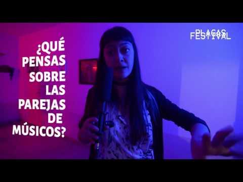 """Diego Montón, Fernanda Eneida y Simón Poxyran en PLAGAS FESTIVAL 8 """"Microfestival del Amor"""" 3/3"""