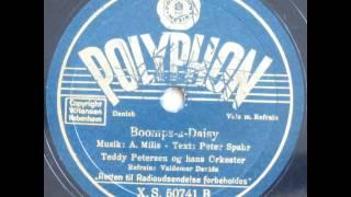 Boomps a daisy - Teddy Petersen; Valdemar Davids 1939