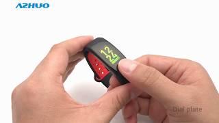 Q6S Smart Bracelet Blood Pressure Heart Rate Monitor Smart Band