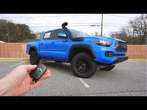 2019 Toyota Tacoma TRD Pro: Start Up, Walkaround and Review