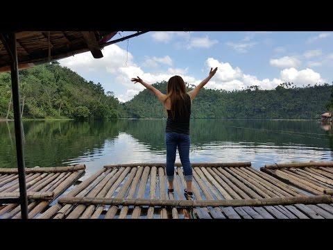Pandin Lake (floating boat restaurant) at San Pablo City, Laguna Philippines (Samsung Note 5)