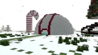 Жизнь Деда Мороза-Майнкрафт анимация