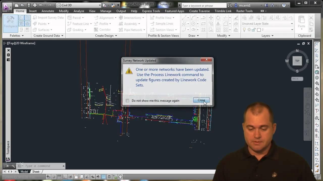 Survey Traverse Adjustment in Civil 3D