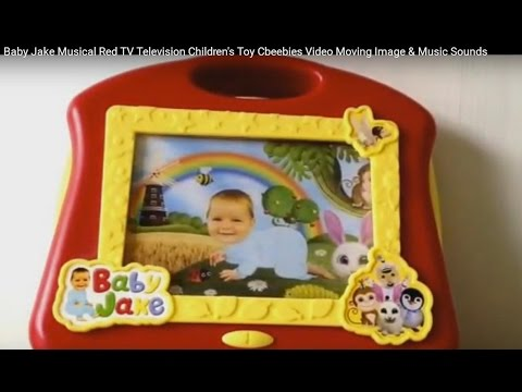 Baby Jake Musical Red TV Television Children's Toy ...