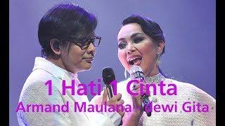Dewi Gita Usap Air Mata Armand Maulana Saat Bawakan Lagu 11 Januari di Konser '1 Hati 1 Cinta'