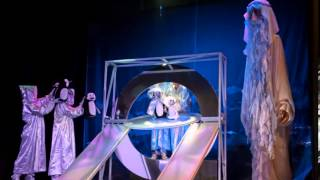 Экскурсия детей сш 6 и сш 12 г.Алчевска в Луганский кукольный театр.