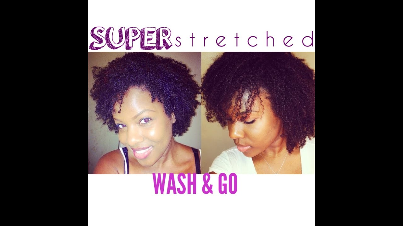 How To Stretch Natural Hair Without Heat Youtube