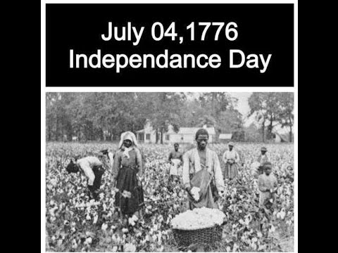 Why black people shouldn 39 t celebrate the 4th of july for Why is 4th of july celebrated