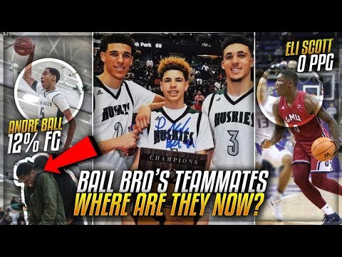 Where Are The BALL BROTHERS Chino Hills Teammates Now In 2018?