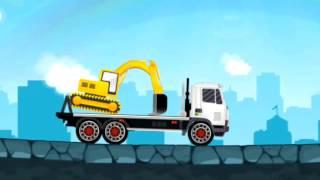 Мультики про машинки   Трейлеры транспортеры
