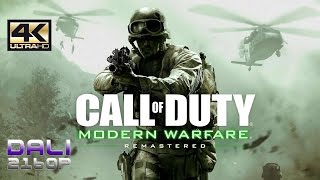 Call of Duty Modern Warfare Remastered PC Gameplay 4K UltraHD 2160p 60fps