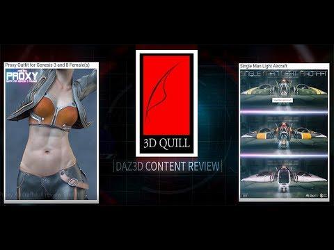 Daz3d Content Review
