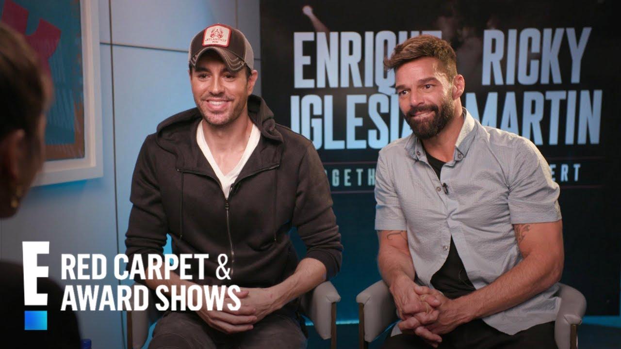 Enrique Iglesias & Ricky Martin Announce Joint Tour! | E! Red Carpet & Award Shows