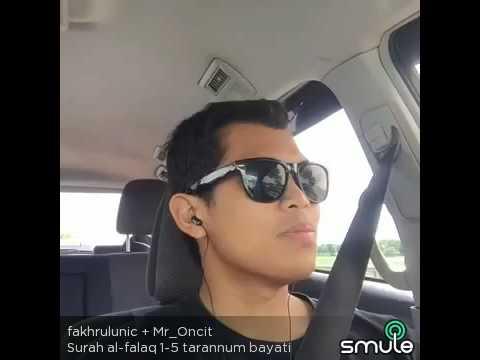 Surah Al - Falaq 1-5 Tarannum Bayati by smule
