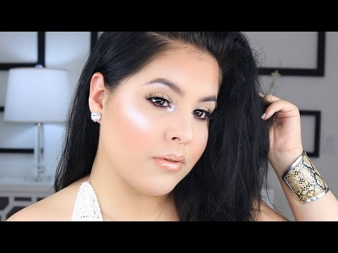 GRWM Everyday Glowy Makeup Tutorial | Chit Chat || Nelly Toledo