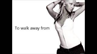 Christina Aguilera - Walk Away (Instrumental with Lyrics)
