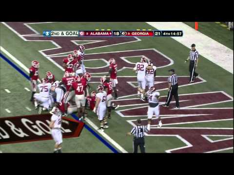 Alabama Highlights from the SEC Championship game vs Georgia in Atlanta, GA 2012