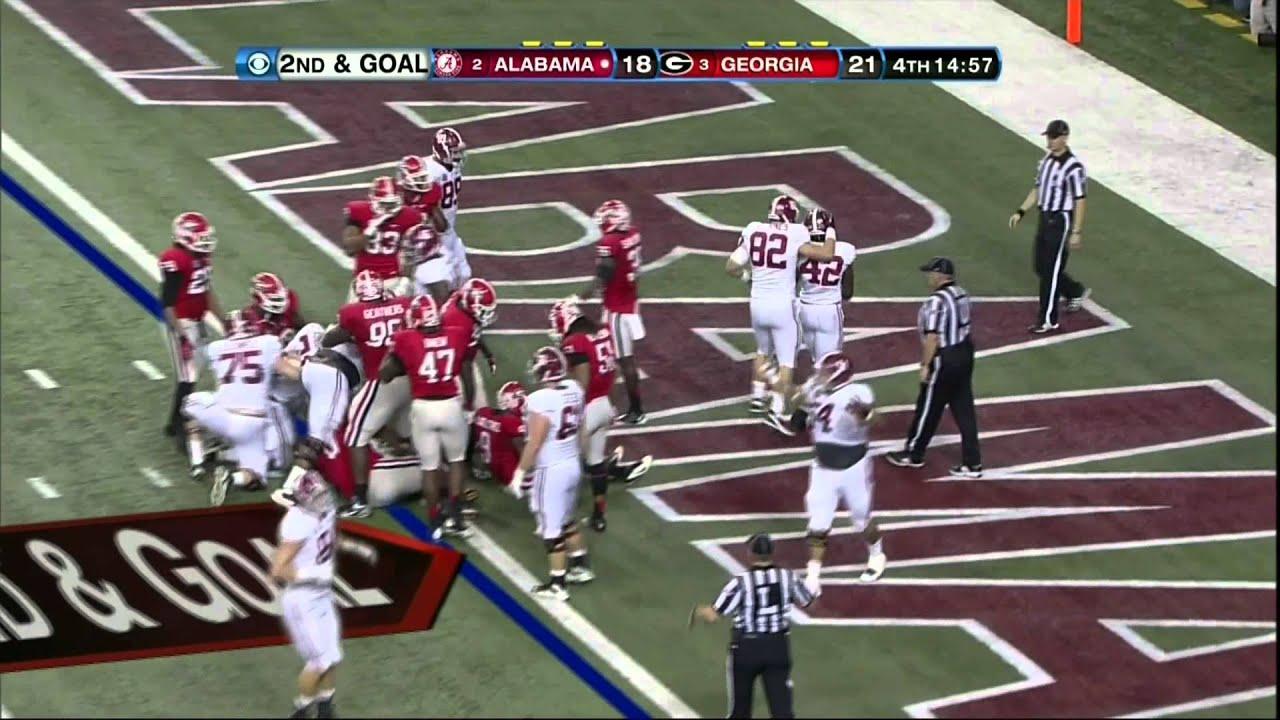 2012 SEC Championship Game - #2 Alabama vs. #3 Georgia ...