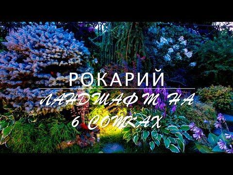 видео: РОКАРИЙ / ЛАНДШАФТ на 6 сотках