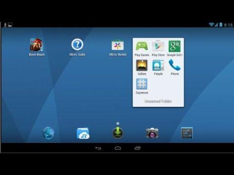 โปรแกรมเปิดแอพ android บน Pc MEmu mobile Emulator.