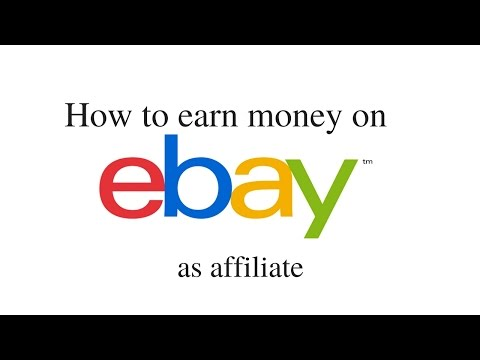 How to earn money on eBay as affiliate?