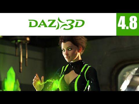 Daz Studio 4.8 - Tuto de Base [FR]