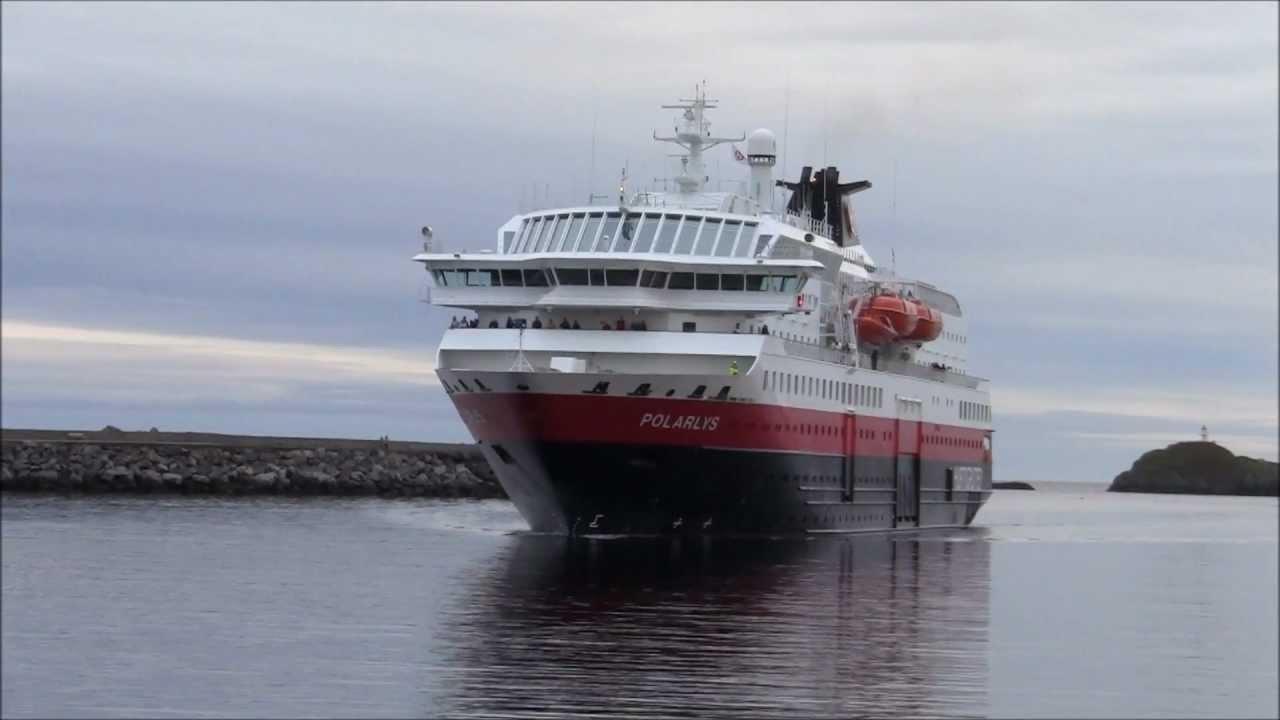 Hurtigruten Polarlys Svolvær Youtube