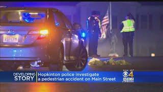 Hopkinton Police Investigate Pedestrian Accident